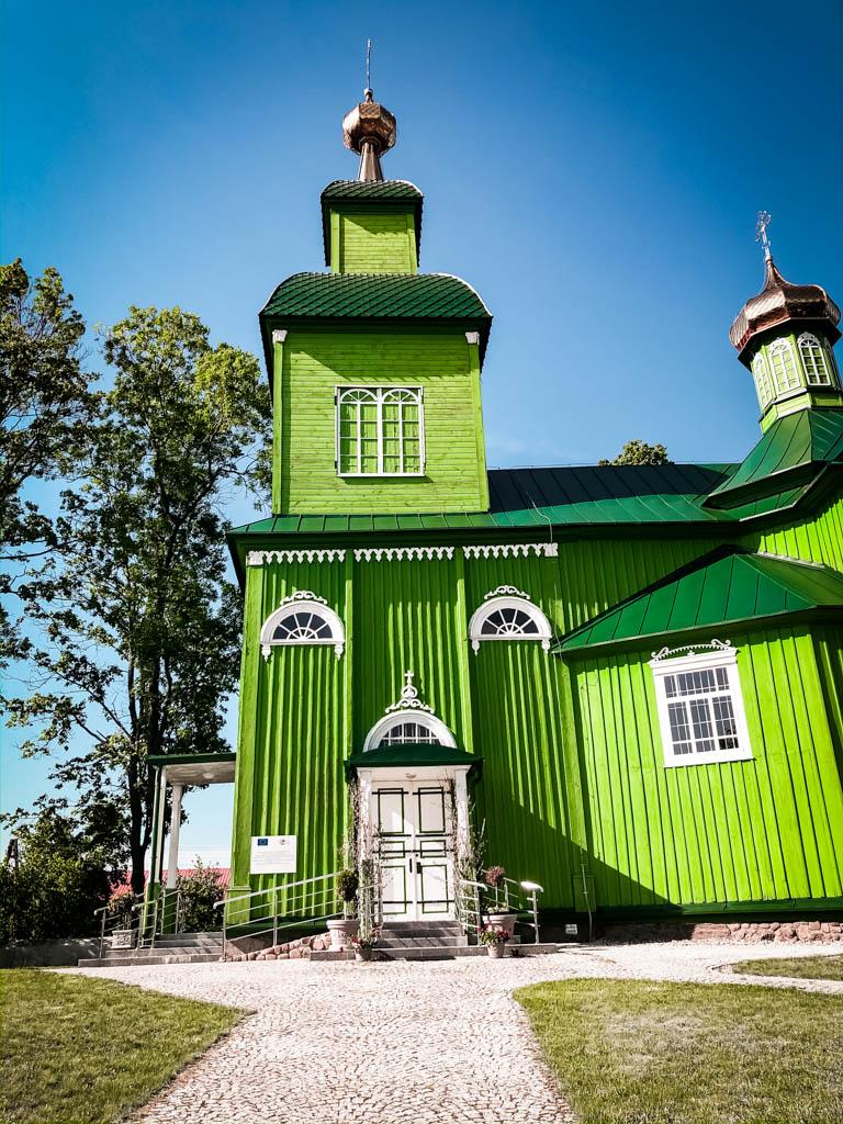 trześcianka cerkiew podlasie