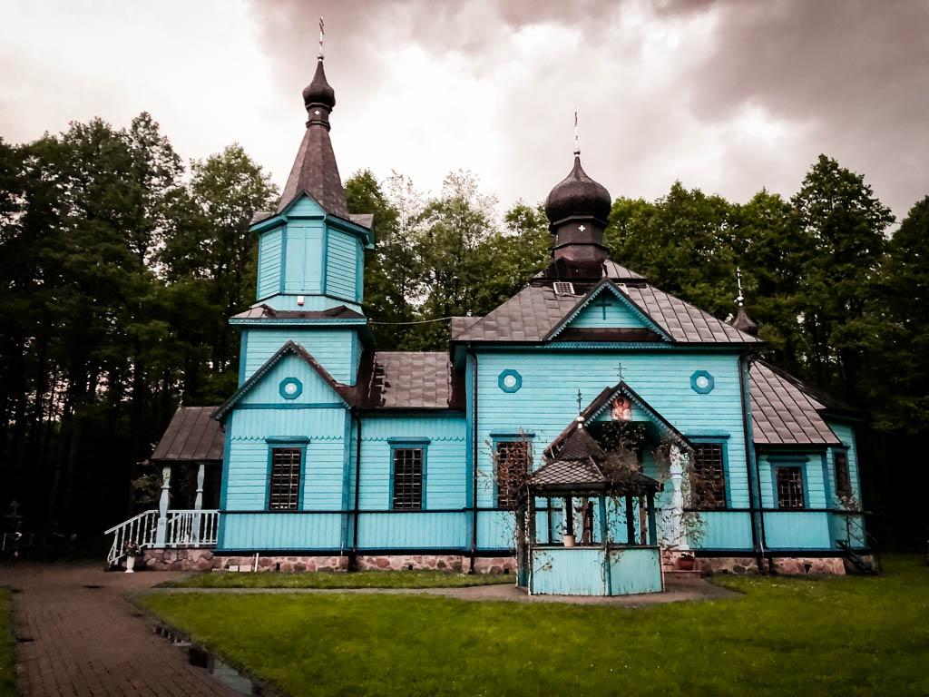 napiękniejsze cerkwie podlasia