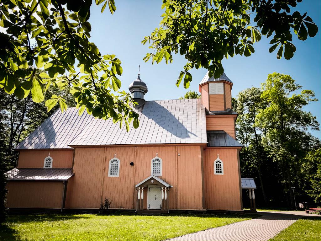 nowoberezowo cerkiew podlasie