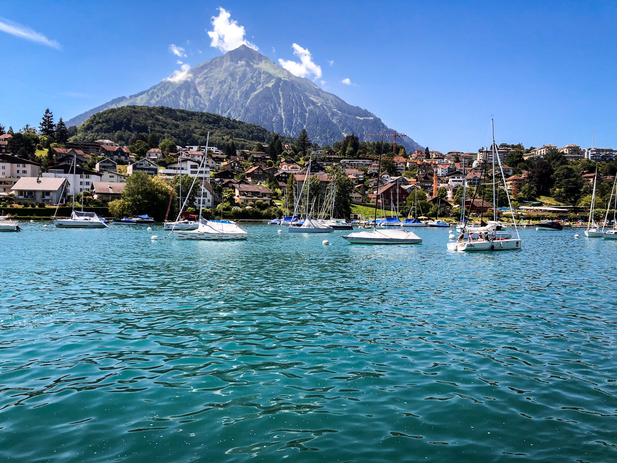 jezioro Thun Szwajcaria
