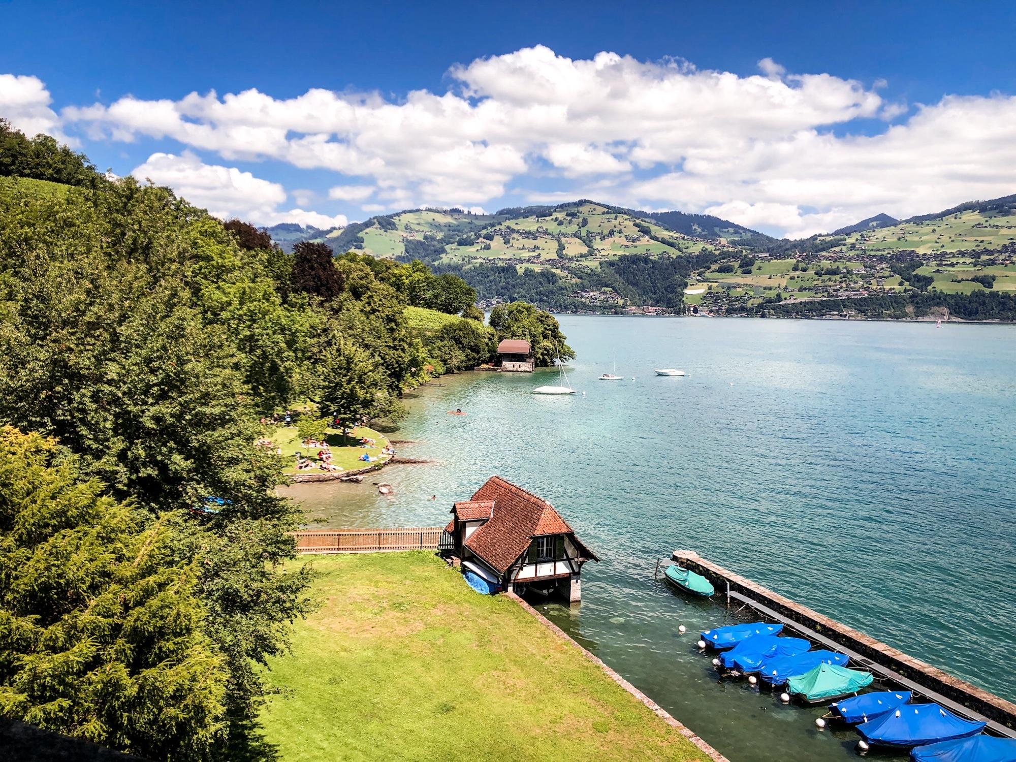 Spiez Szwajcaria
