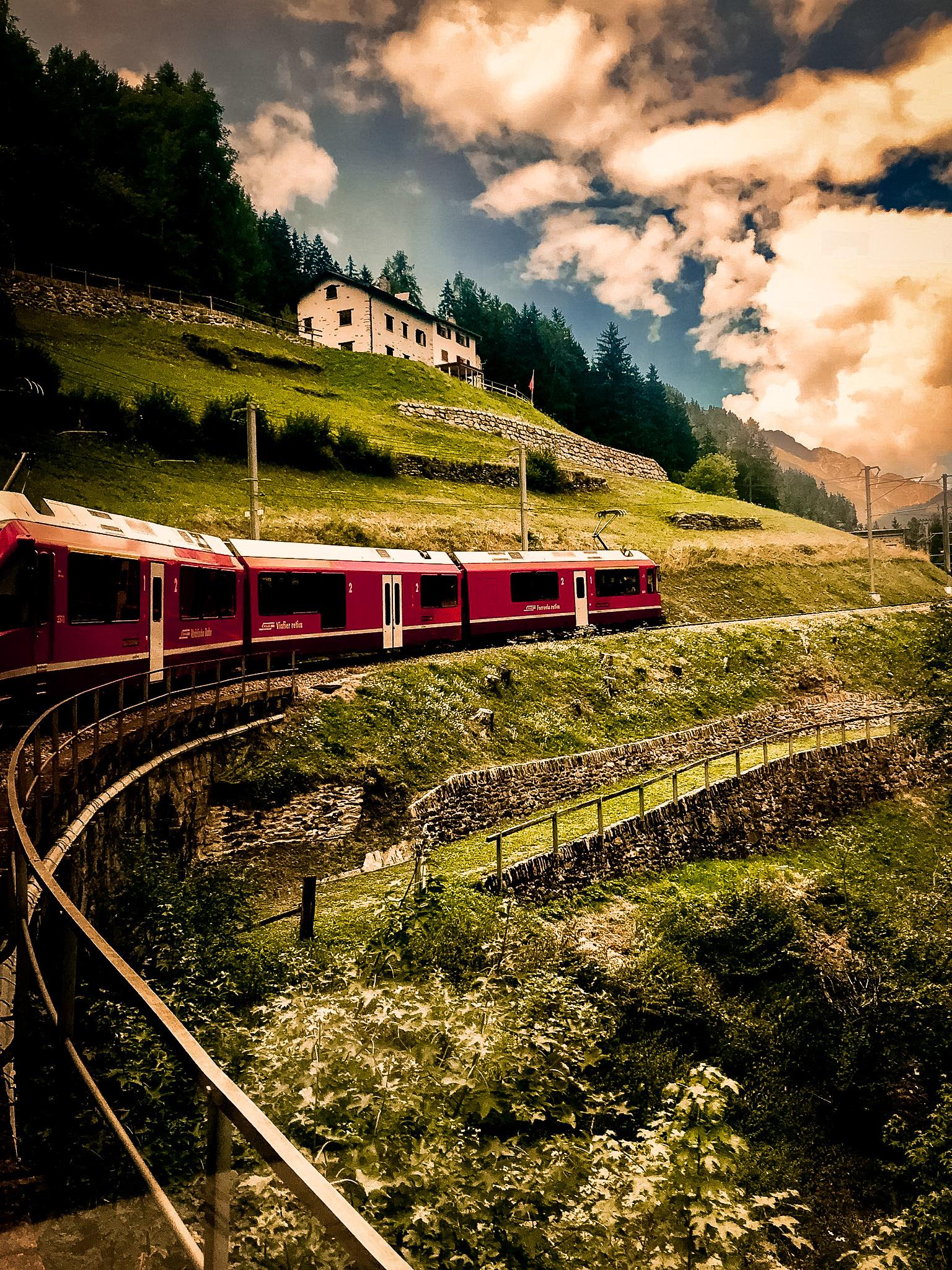 bernina express szwajcaria