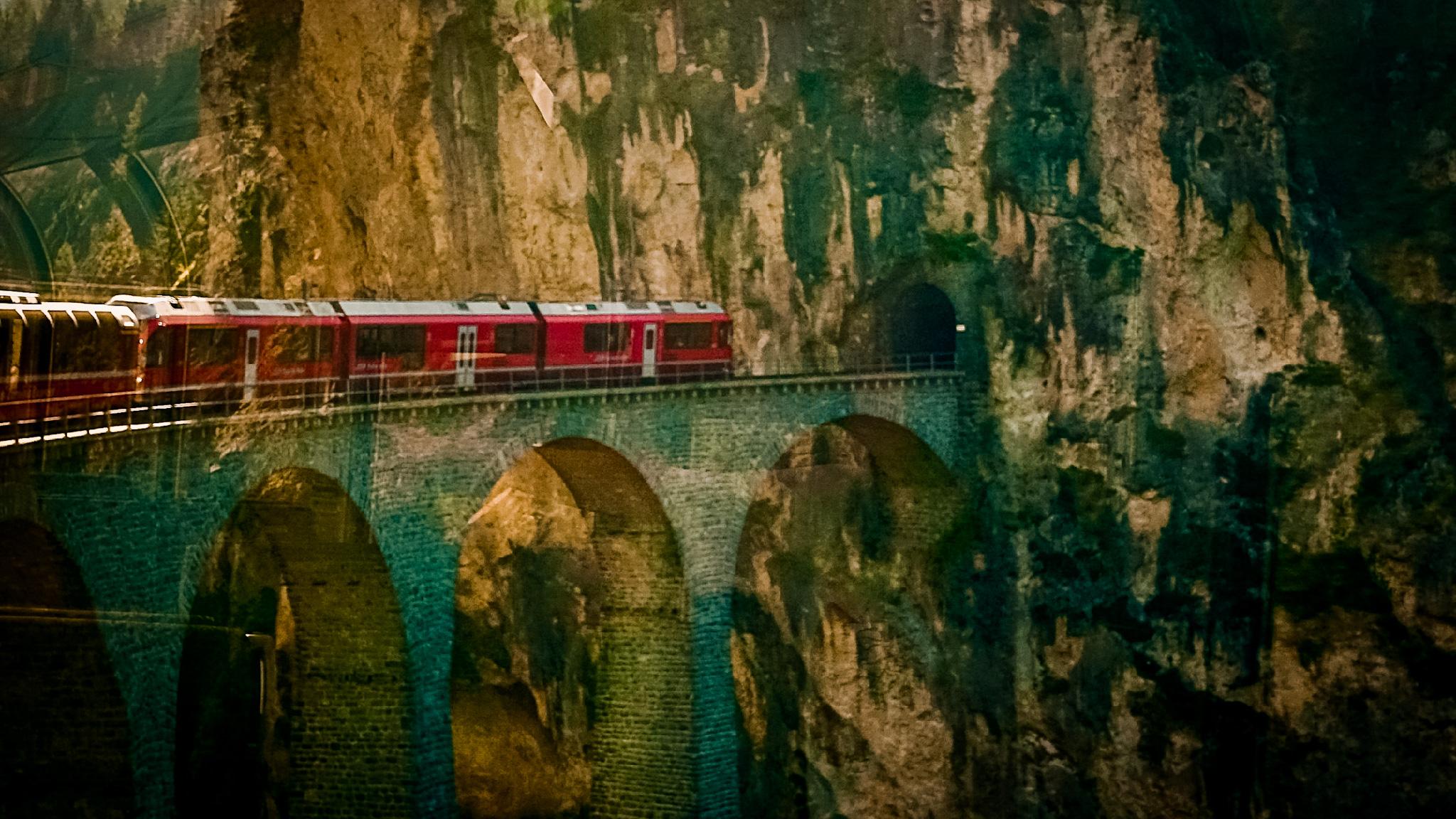 Szwajcaria pociągiem - Bernina Express