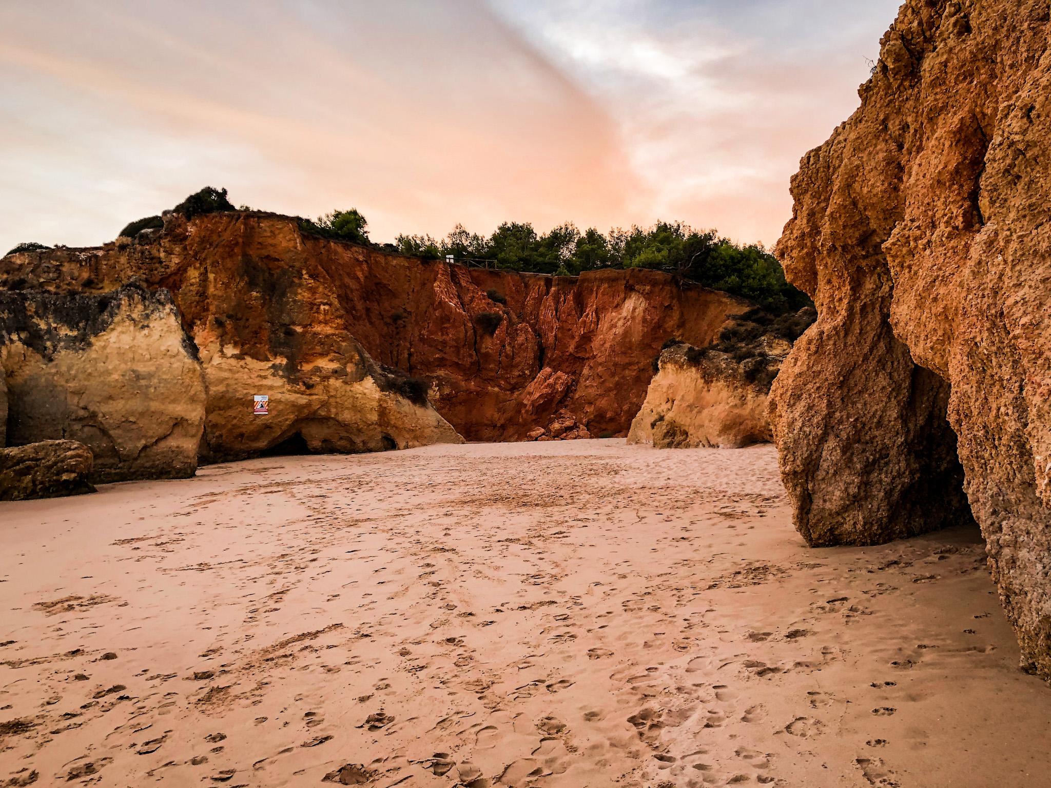 najpiękniesze plaże Algarve