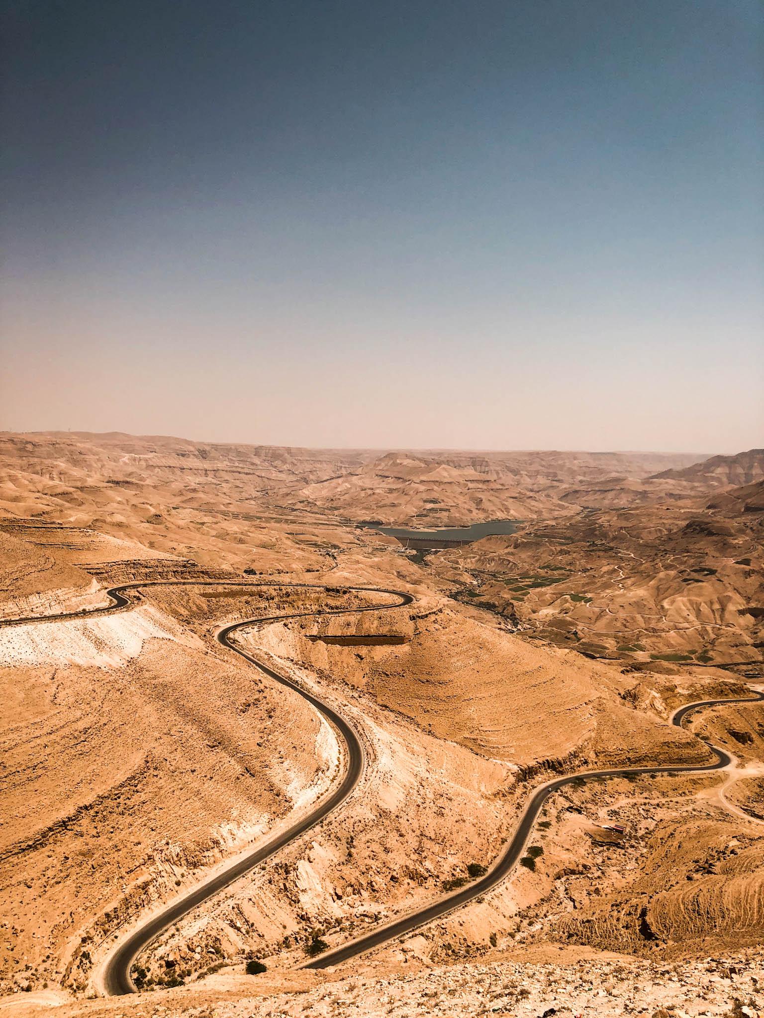 Jordania samochodem - trasa poza głównym szlakiem