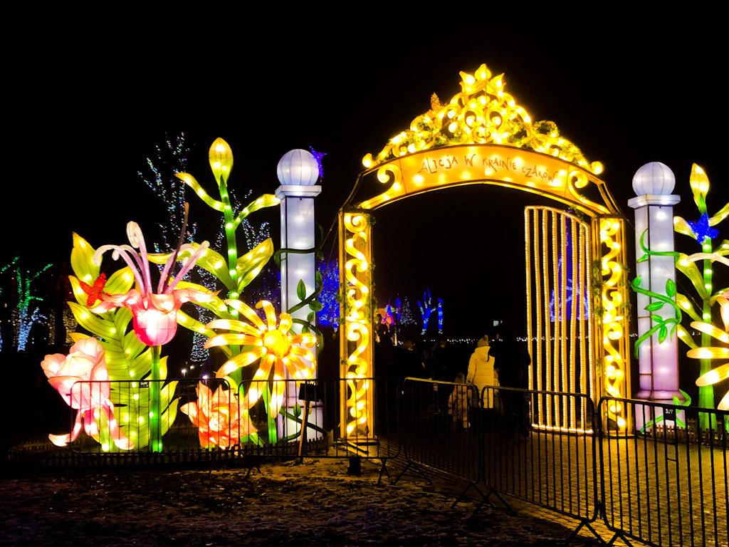 Atrakcje Ogrodu Świateł w Krakowie