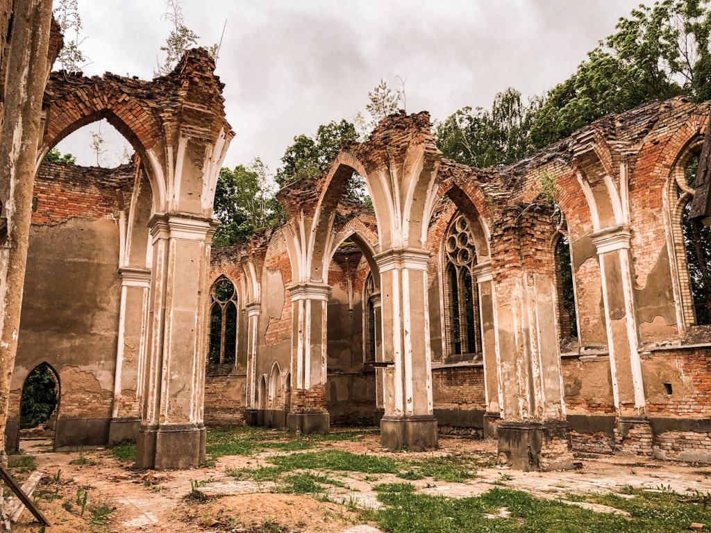 Podlasie - Ruiny kościoła św. Antoniego w Jałówce