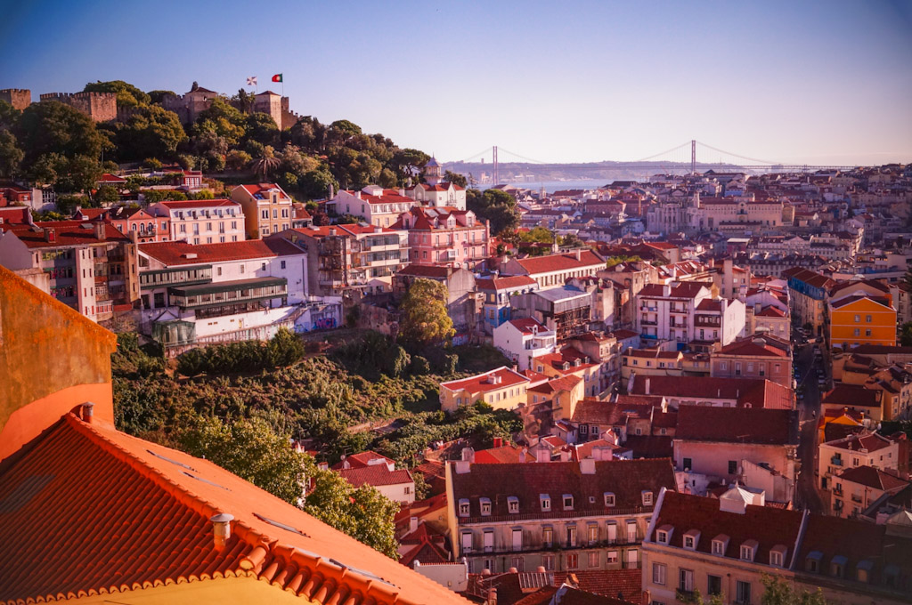 Lizbona - atrakcje: najpiękniejsze punkty widokowe
